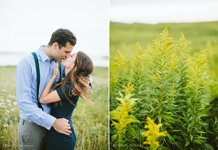 Cape Cod Engagement Session by Rebecca Arthurs